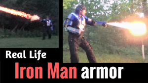 real life iron man armor suit